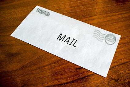 Pop up für Mail