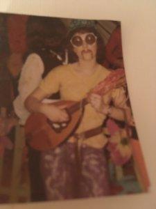 Hippieverkleidung